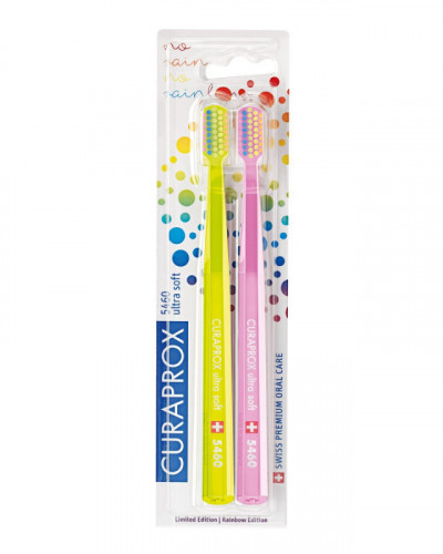 CURAPROX RAINBOW LIMITED 5460 Toothbrushes
